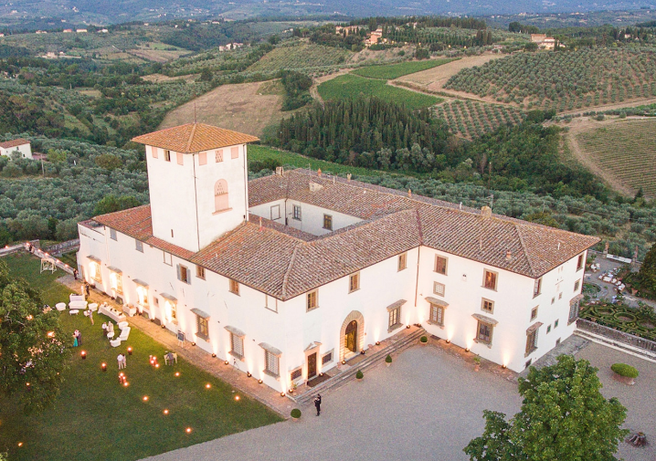 VILLA ALESSIA - A historic event-only space in the province of Florence. The heart of this property is the stunning frescoed gallery which dates back to the 17th century.Read More...