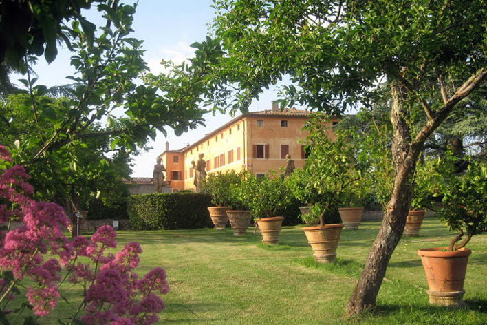 Villa Sofia, Siena - A renowned Tuscan venue with onsite accommodation for around 80 guests. A symbolic ceremony can take place within the beautiful grounds, with civil ceremonies being held in nearby Siena.Read More...