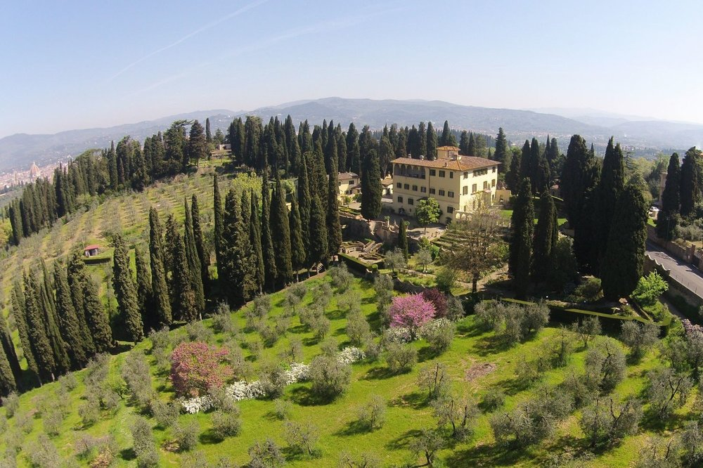 Villa Umberto, Florence - This villa hotel was once a historic convent. It has onsite accommodation for 56 and is just 10 minutes from the centre of Florence.Read More...