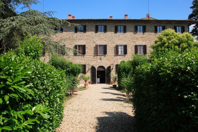 Castelvecchi, Florence - A large farmhouse estate in Chianti with onsite accommodation for up to 100 guests.Read More...