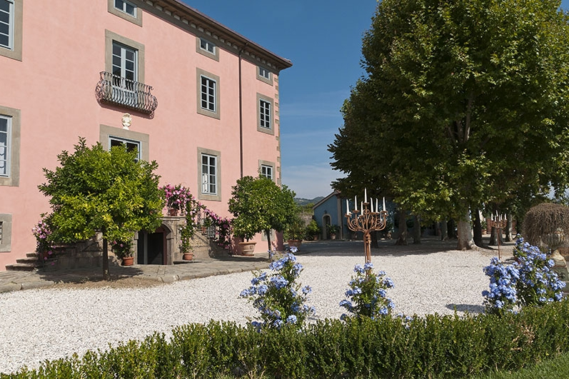 Villa Elena, Lucca - A charming Tuscan villa in Lucca with an onsite chapel, civil ceremony options and accommodation for 40 guests.Read More...