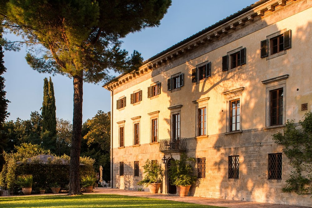 Villa Michele, Pisa - A charming Tuscan villa in Lucca with an onsite chapel, civil ceremony options and accommodation for 40 guests.Read More...