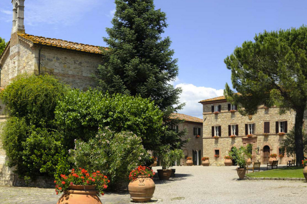 Hotel Adrianna, Siena - A 5* hamlet in the Chianti countryside with both a private chapel and church onsite for symbolic or religious weddings.Read More...