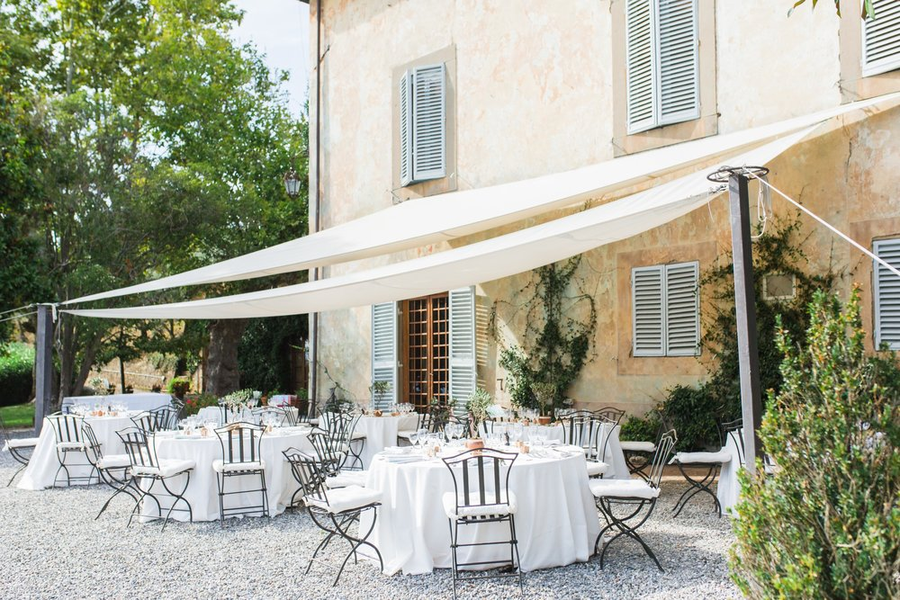 Villa Monica, Lucca - A large estate of villas and apartments which sleeps 70-80 guests. A civil ceremony can be held within the grounds.Read More...