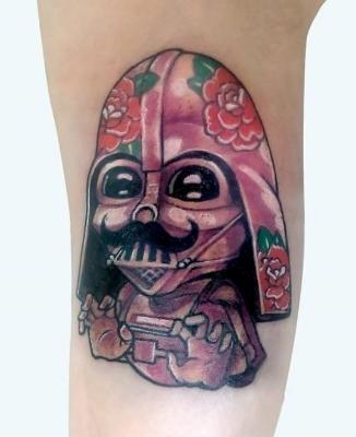 Darth Vader Tattoo Morden