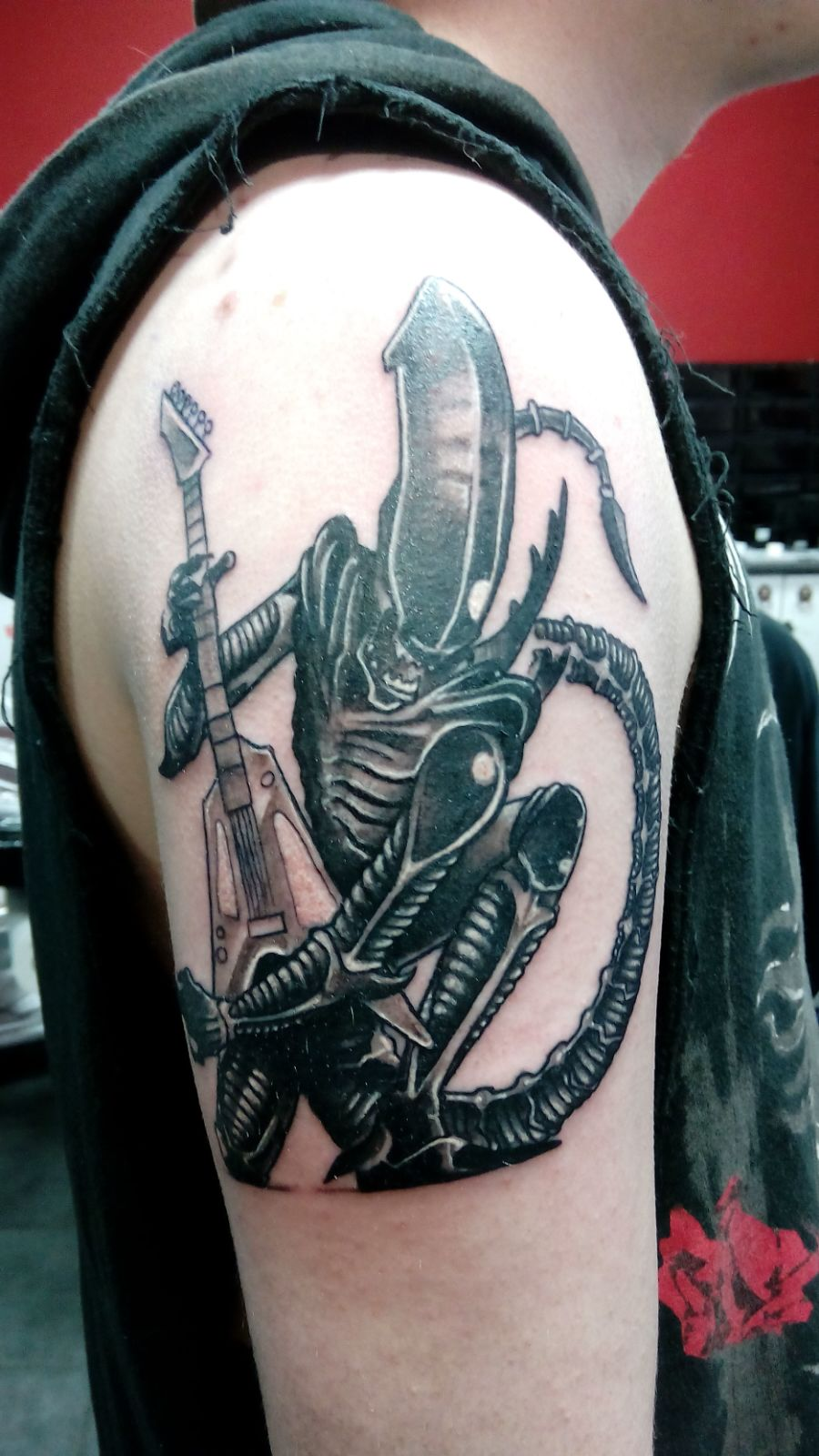 Alien Tattoo Morden