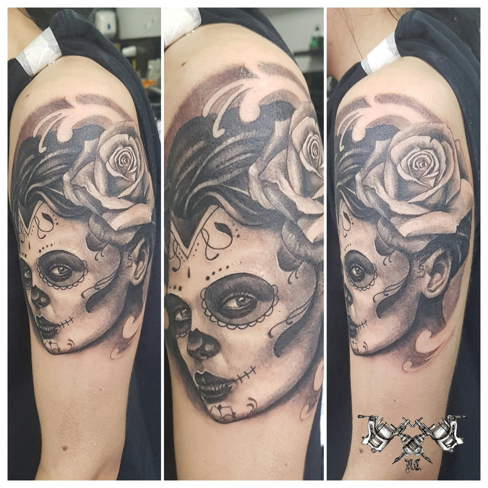 Sugar Skull Tattoo Morden