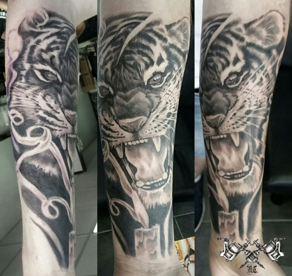 Tiger Tattoo Morden