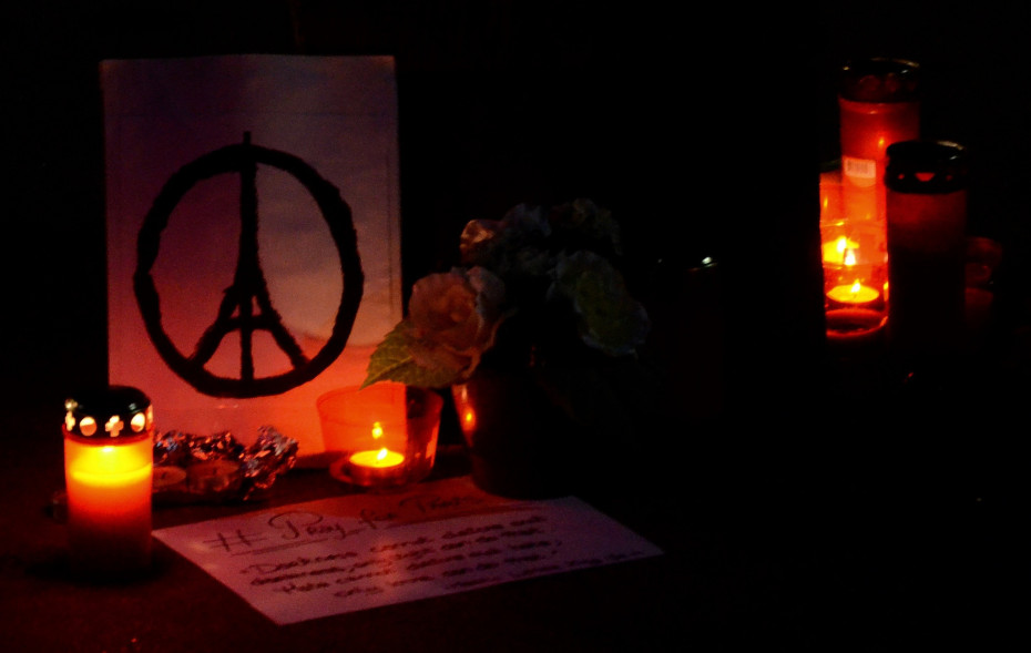 A memorial to the victims of the Paris attacks. (Creative Commons photo by  Franck Schneider )