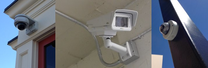 Various IP Cameras Installed by Urban Alarm