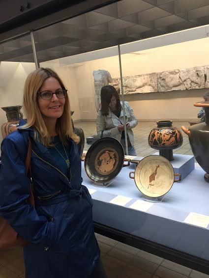 At The British Museum 2015