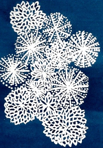 Chrysanthemum Batik