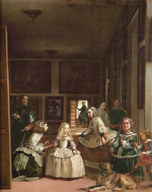 Las Meninas (The Maids of Honour), 1656 Museo del Prado.