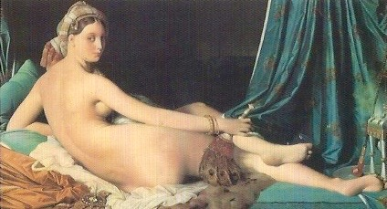 Great Odalisque 1814   Louvre Museum