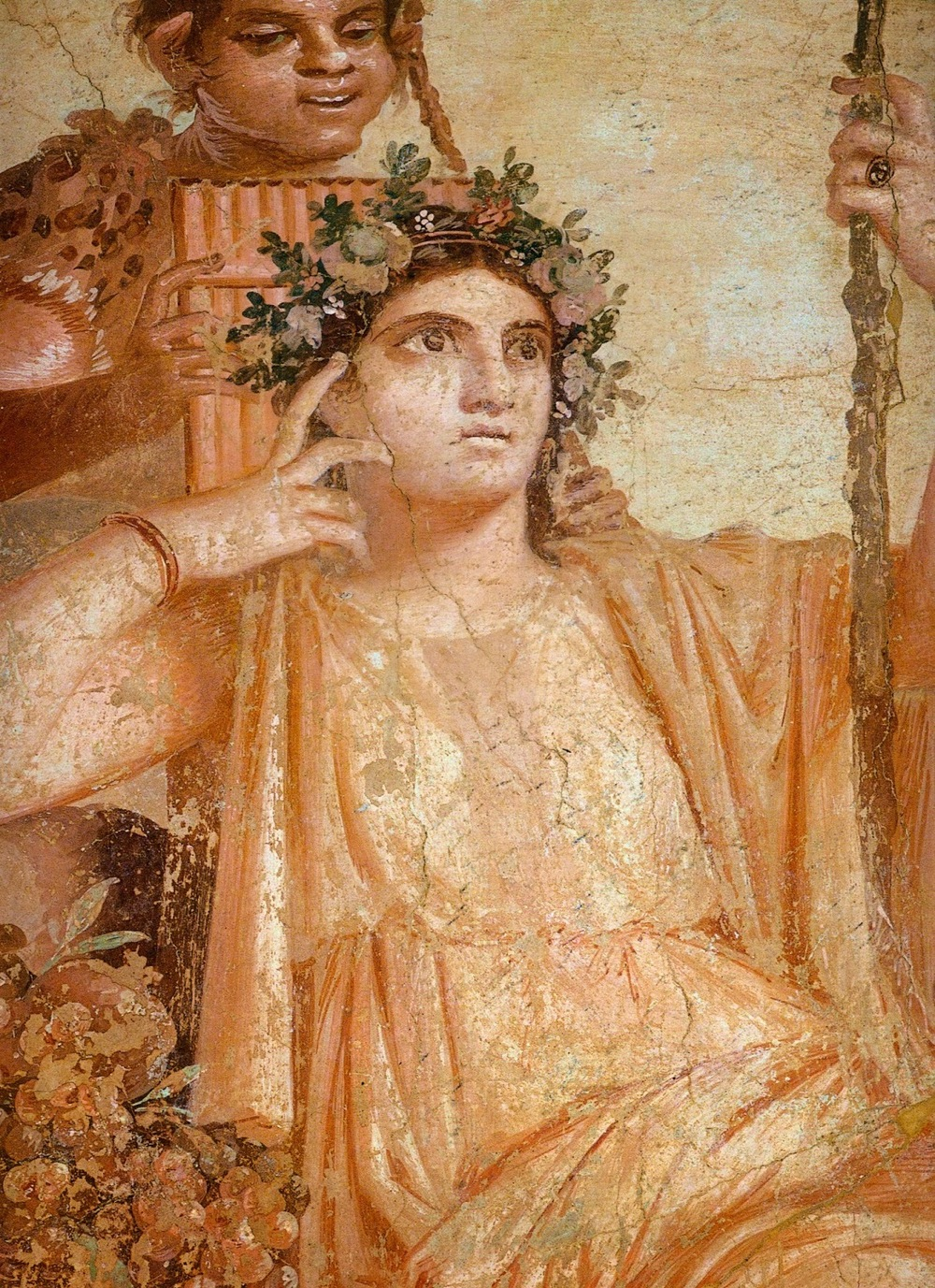Frescoe in Herculaneum