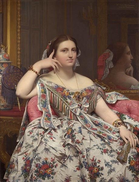 Madame Moitessier Seated    Ingres