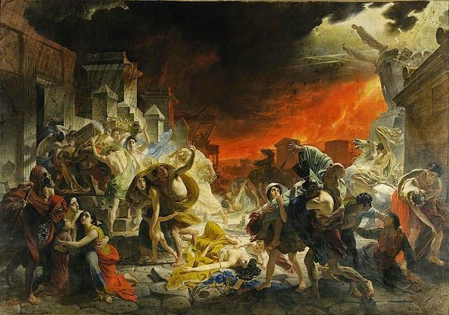 The Last Day of Pompeii, Karl Bryullov, 1830-33