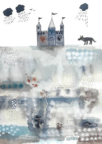 Wolf and Castle