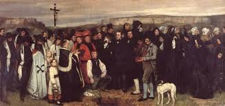 Burial at Ornans               Gustave Courbet