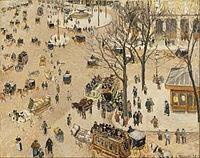 La Place du Theatre Français