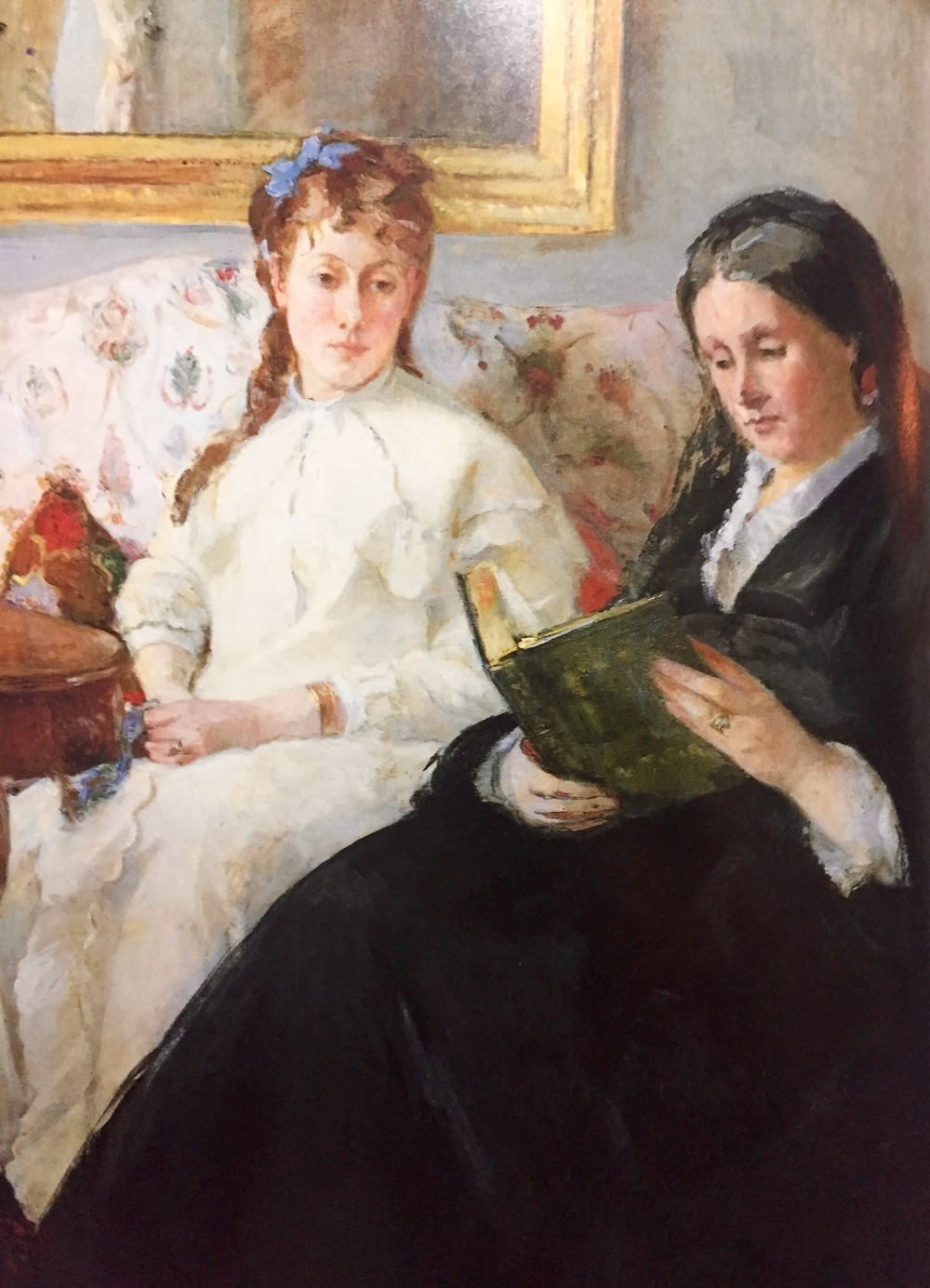 The Mother and the Sister of the Artist                                           Berthe Morisot