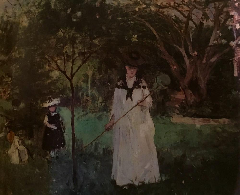 Chasing Butterflies                                      Berthe Morisot