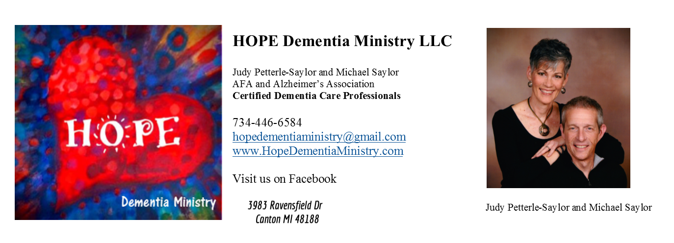 HOPE Dementia Ministry LLC