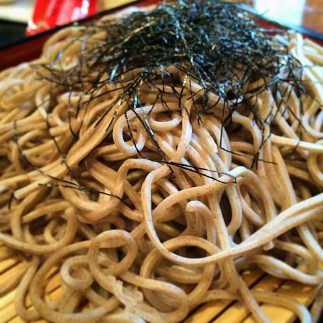 Soba is good for the soul. 😊🍴🍜 #panyanyc #foodie #soba #noodles #fresh #culinary #chef #japanese #foodpics #foodporn #nyceats #eeeeeats #NYC #eastvillage #lunch #dinner #nycfood #eatthis #delicious #zagat