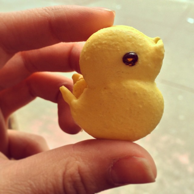 I don't know about you, but we're getting a little peep-ish over Easter coming up! Check out our new Macarons!  Our thoughts and prayers go out to everyone affected by yesterday's fire. We are a community and the East Village is all of our homes.  #panyanyc #bakery #peep #Easter #chick #sweet #spring #pastry #NYC #NYCeats #eeeeeats #EastVillage #yum #cute #special #foodie #instafood #foodpics #foodporn #macaron