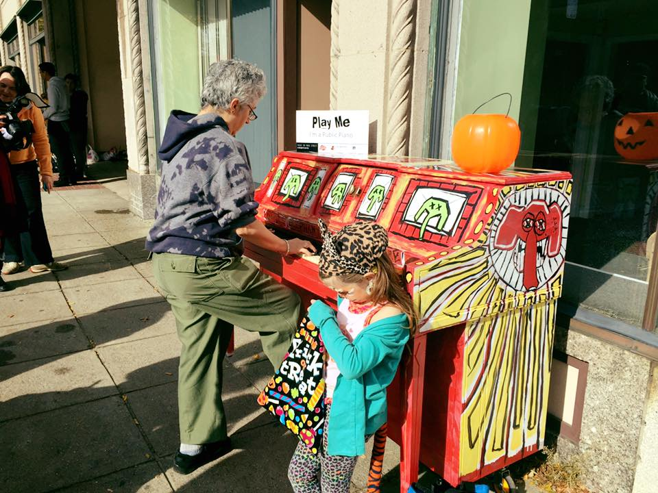 Fitchburg PRIDE: Art Pianos