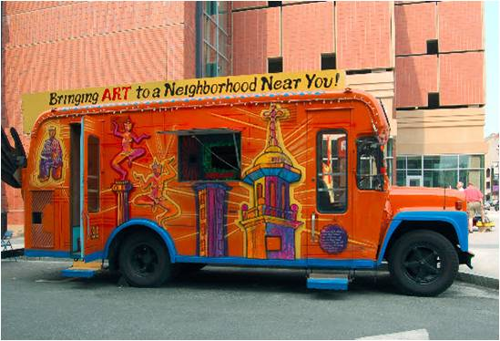 The Revolving Museum: Art Ventures, a Public Art Mobile