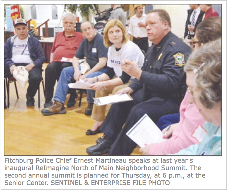 FITCHBURG -- On Thursday, organizers of the revitalization project ReImagine North of Main will celebrate its second year in the city with an event encouraging even more residents to get involved in the effort...   Read more here!