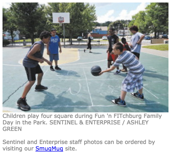 FITCHBURG -- Dozens of local children and their parents headed to Green Corners Park on Wednesday afternoon, ready to enjoy healthy foods and fun physical activities at the annual Fun 'n FITchburg Family Day in the Park...   Read more here!