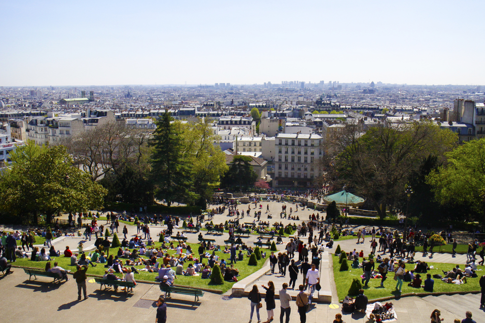 The view from Sacre-Cœur