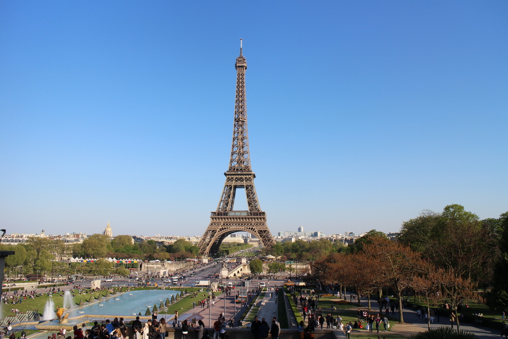 And of course, the Eiffel Tower