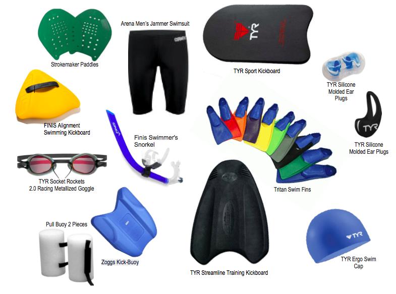 Boris Talan favorite swim coaching equipment for adults