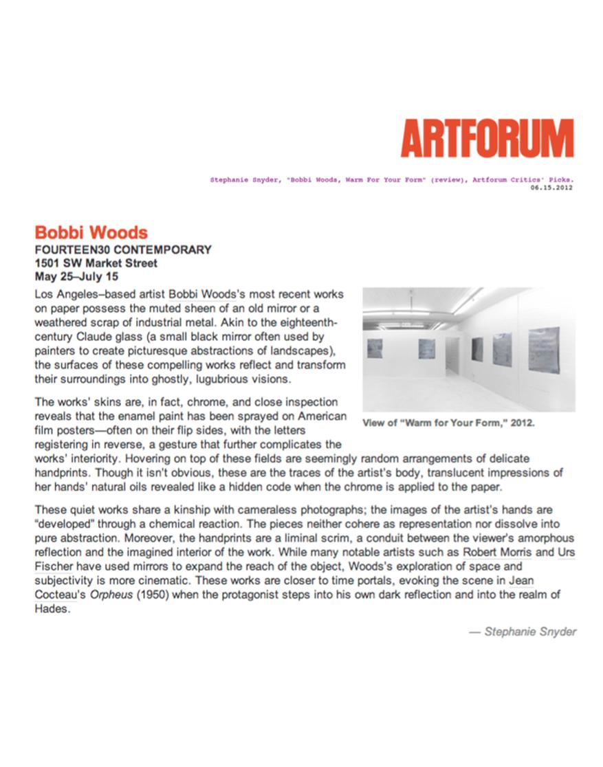 WOODS_ARTFORUM_6.12_