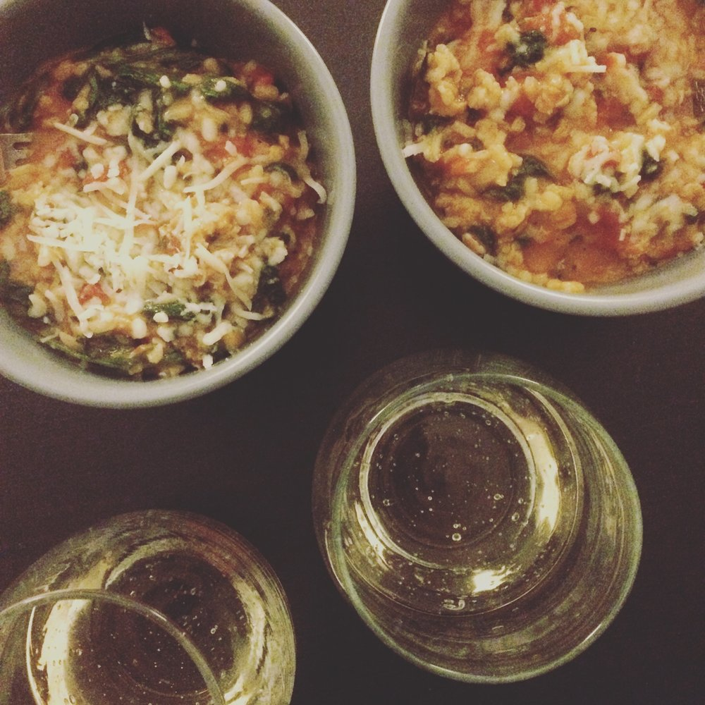 tomato sausage risotto.JPG
