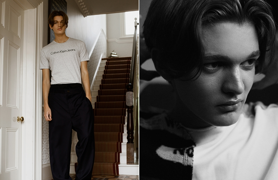 BOYS BY GIRLS ´Tuning Out´  Photographer/Sophie Mayanne  Styling/Samuel Gallagher  Model/Gabriel Lindsay AMCK Models London