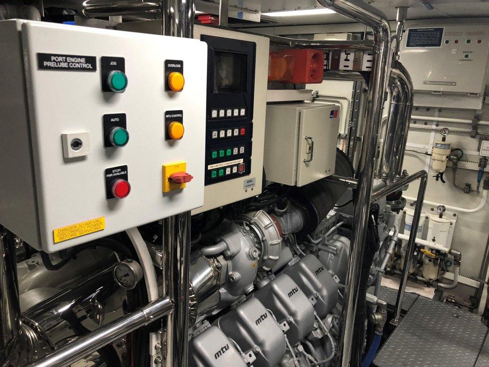 Inspection of 2 MTU Series 4000; CA