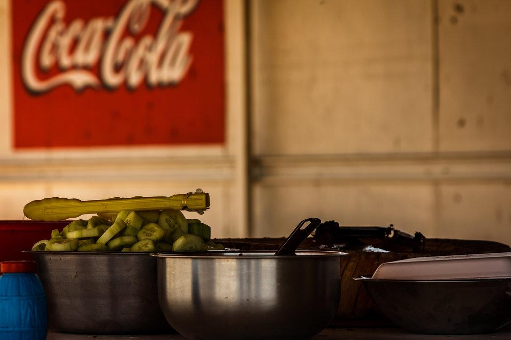 Cucumbers and Coke