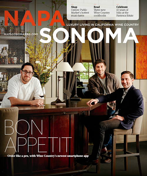 Napa Sonoma magazine - October 2014