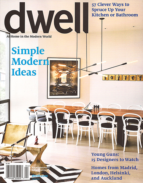 Dwell magazine - April 2015