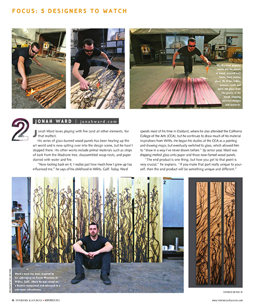 Interior & Sources Article - November 2013