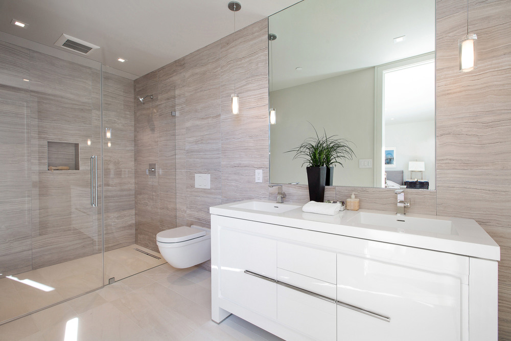 Mirror And Regency Shower