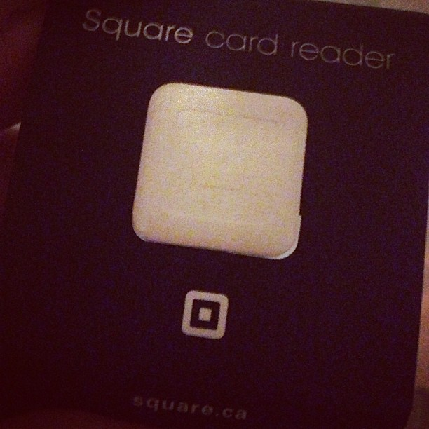 Square credit card reader for iPhone