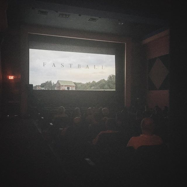 Fastball screening at OFFA! Had a great time at this festival. #fastballfilm