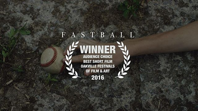 Hey we won an award! Audience Choice Best Short Film at OFFA #fastballfilm