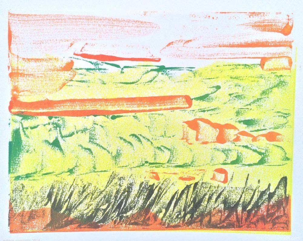 Chartreuse Landscape_2014_ Monotype_9x12_©2015 kristenmwatson 2.jpg