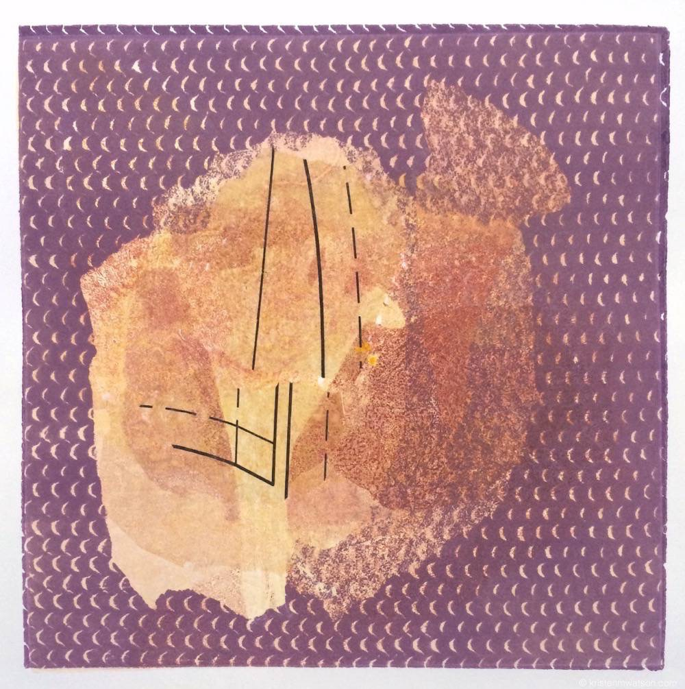Untitled violet chine colle monoprint 1_2015_12x12in_©2015kristenmwatsonartstudioLLC 2.jpg